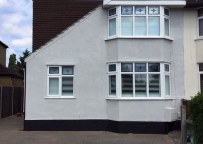 Cement Render After